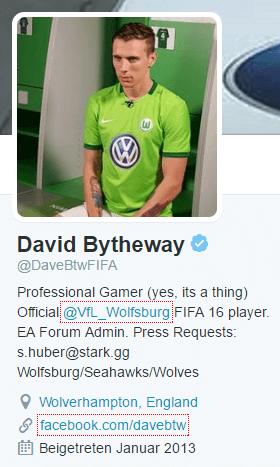 David Bytheway FIFA VfL Wolfsburg Twitter