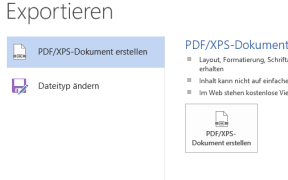 word dokument in pdf umwandeln