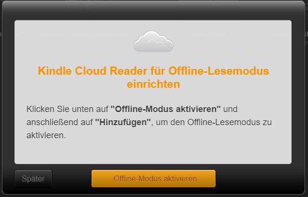 kindle cloud reader offline