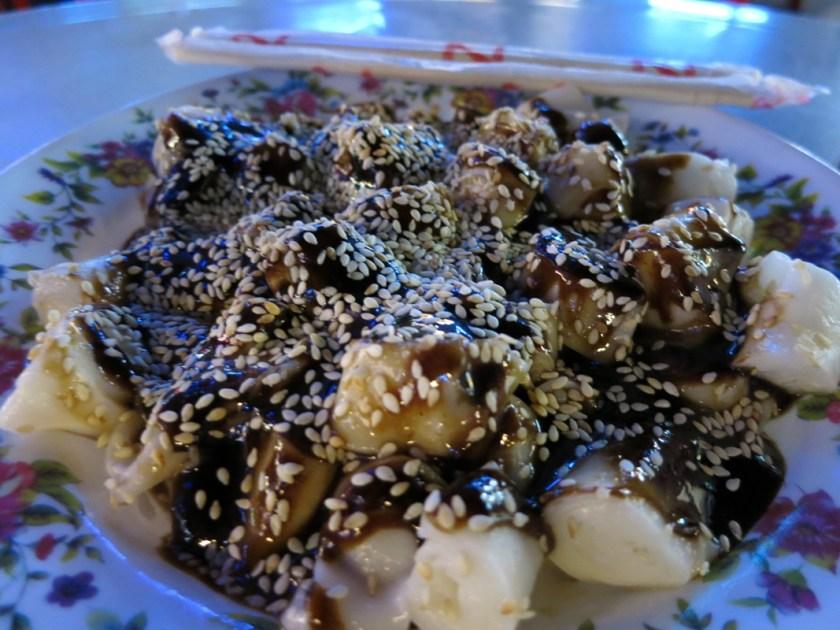Süße Nudeln Penang