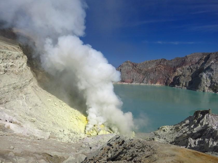 Kawah ijen vulkan indonesien