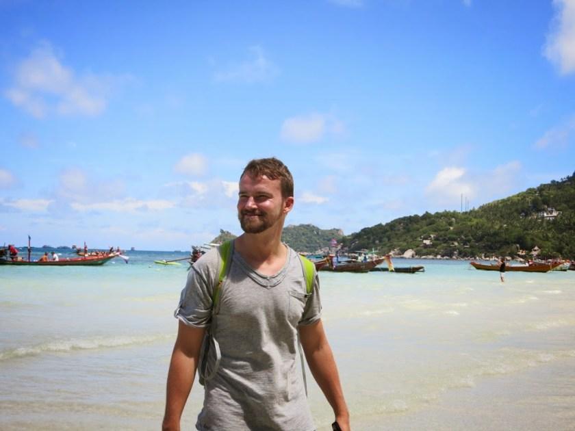 langzeitreise backpacking thailand strand