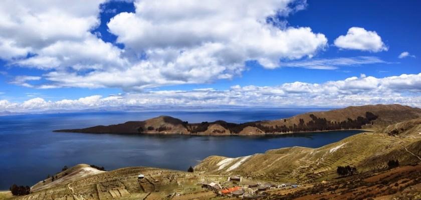 Bolivien Isla del Sol Panorama