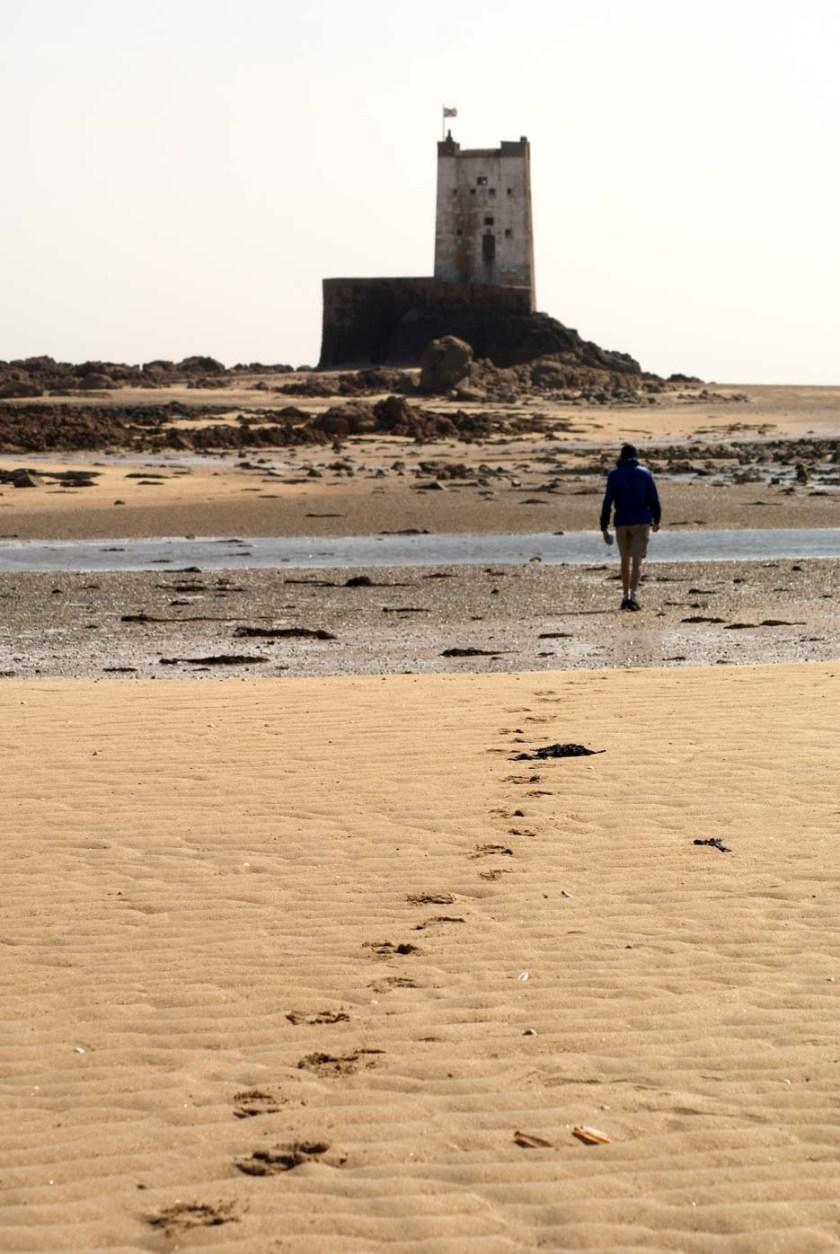 Walking to Seymour Tower