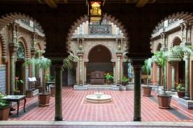 Im Inneren des Casa do Alentejo.