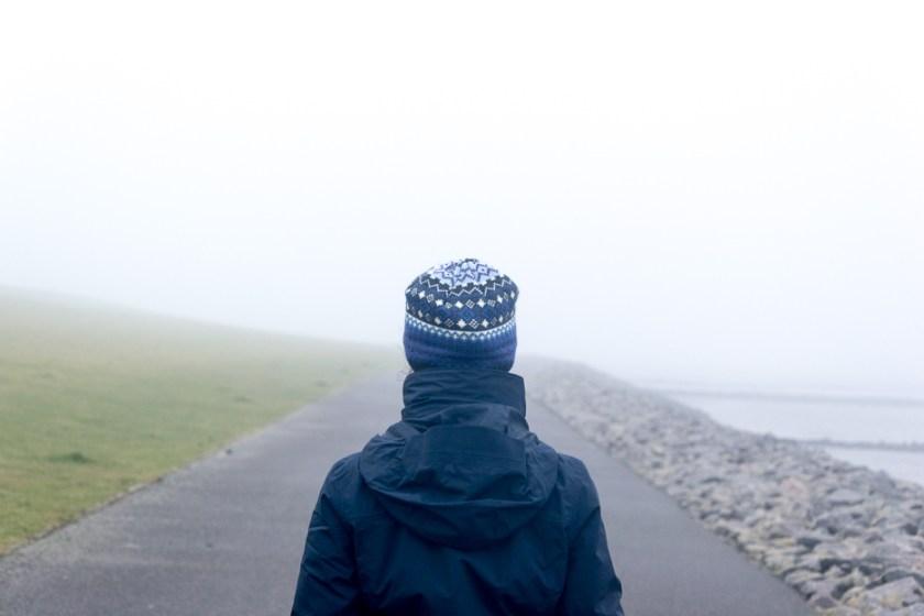 wandern winter nordsee buesum nebel