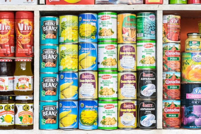 sri lanka food dosen supermarkt