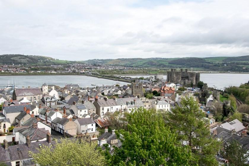 Conwy Castle Stadtmauer Aussicht