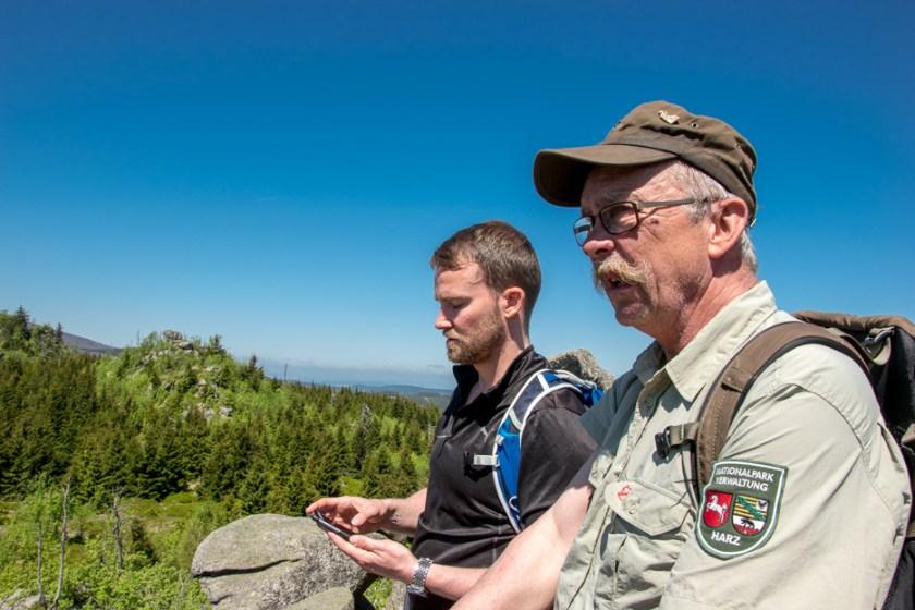 Harz Nationalpark Ranger Herbert Papies