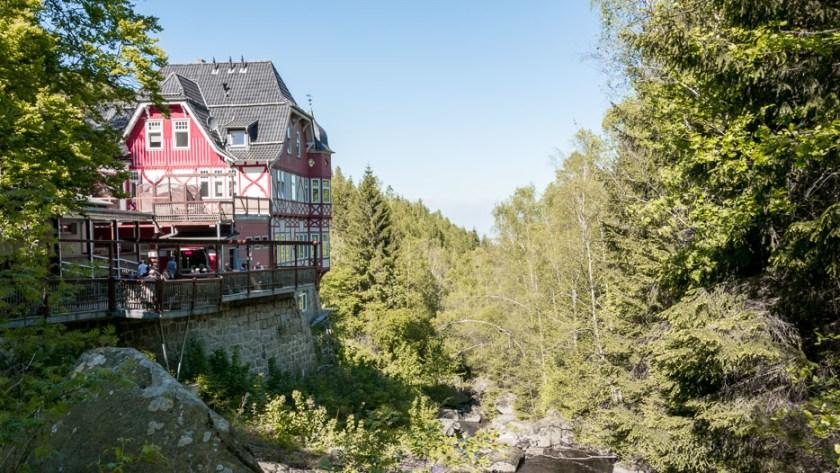 Steinerne Renne Waldgasthof Restaurant Hotel Harz