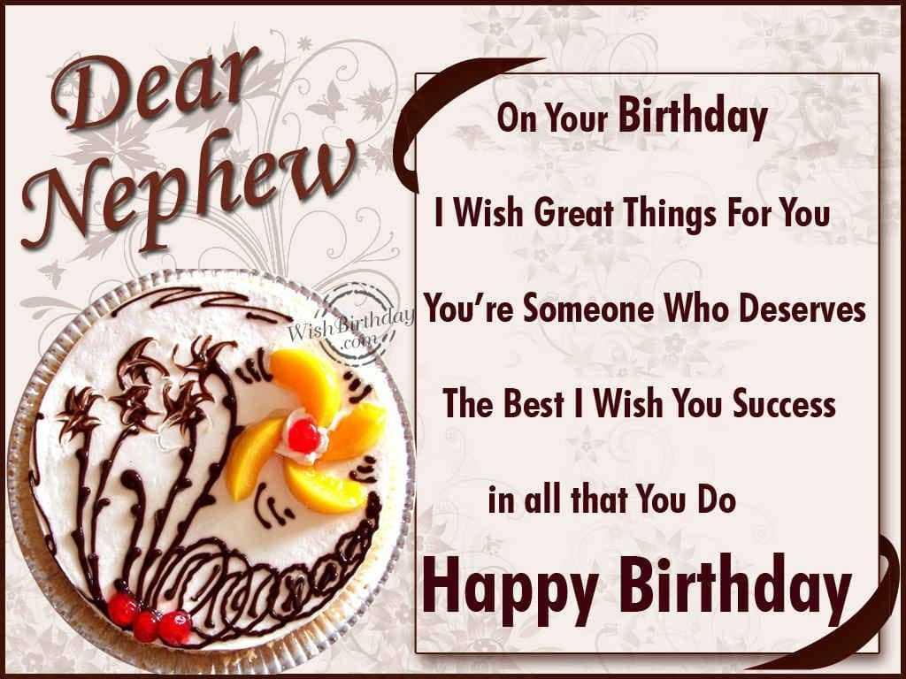Funny Happy Birthday Card Messages For Nephew Todayz News