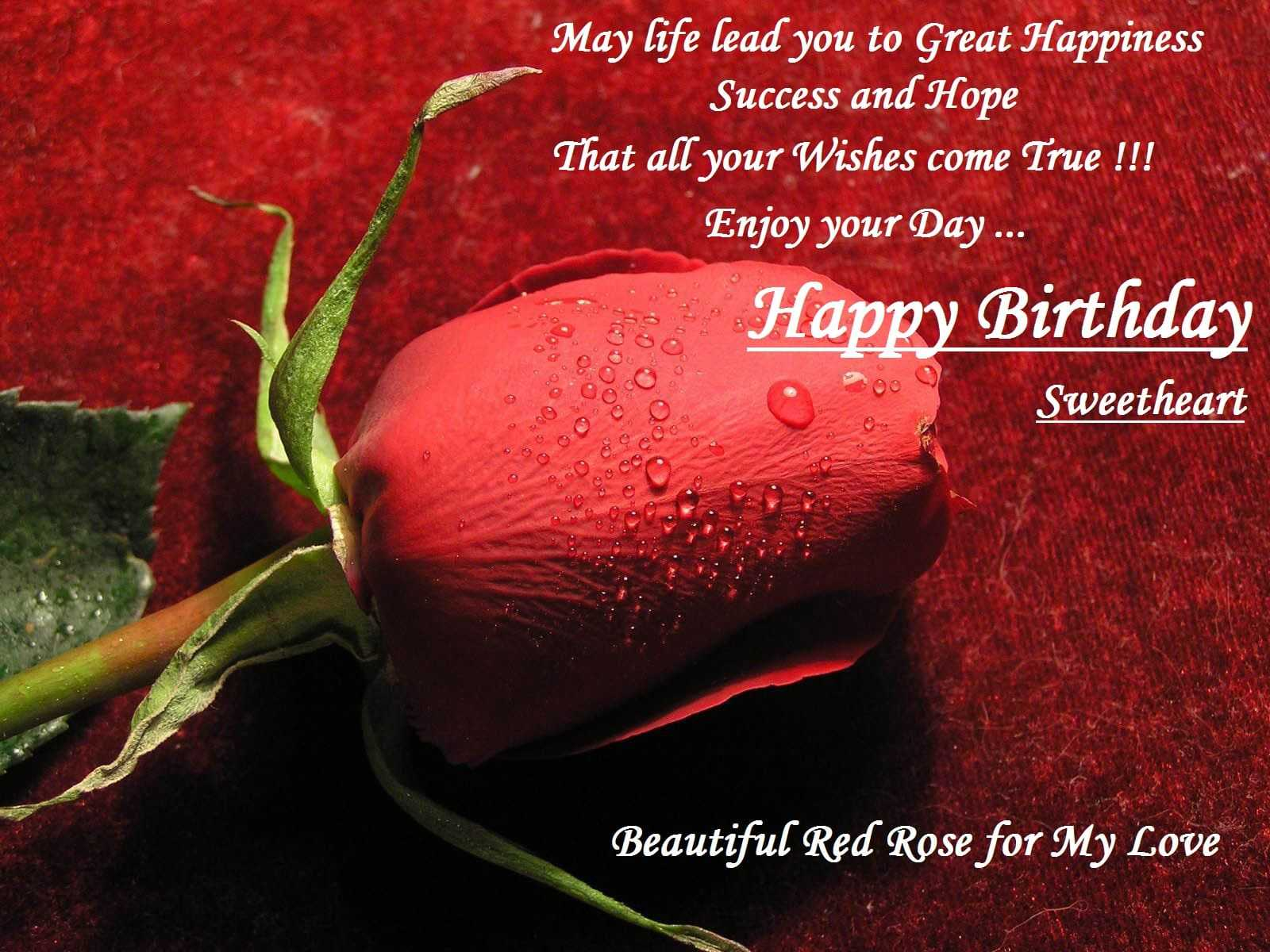 Birthday Greetings For Wife Abroad From Husband In English Free Download Todayz News