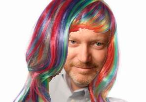 rainbow wig 1