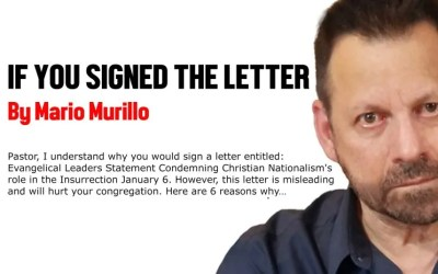 IF YOU SIGNED THE LETTER
