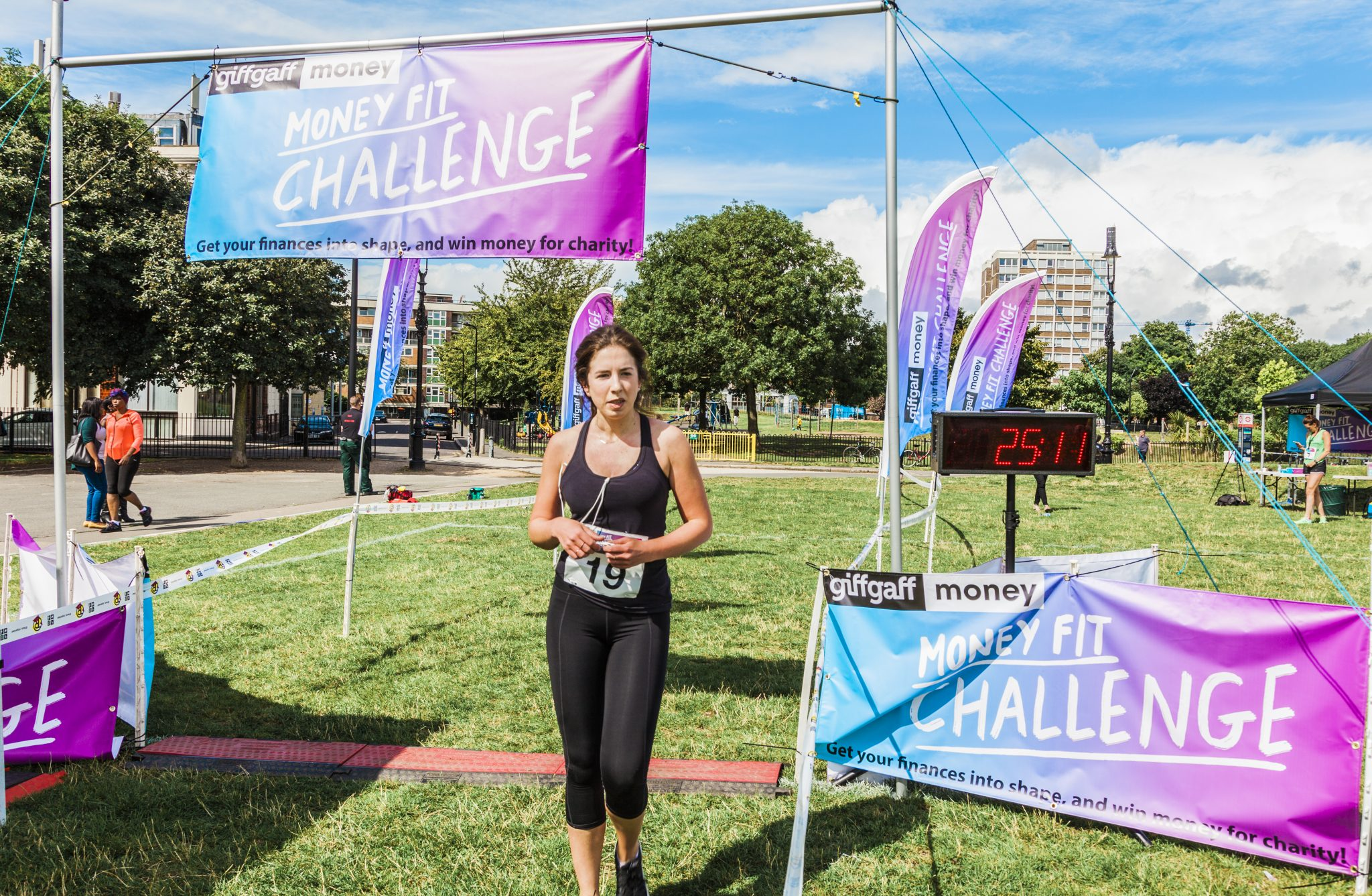 0052 Finish Line - Giff Gaff Money Fit Challenge