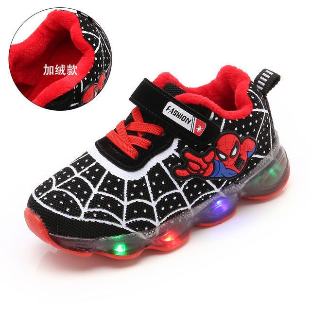 Spiderman Trainers for Boys - ToddiCare