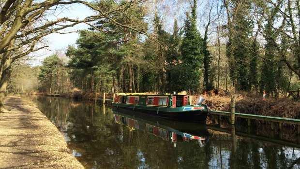 Basingstoke Canal Visitor Centre Play Area, Mytchett