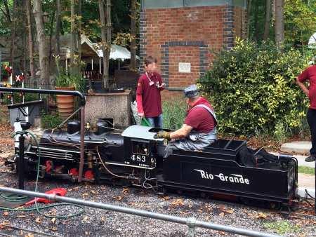 Mizens Railway - Woking Miniature Railway, Surrey