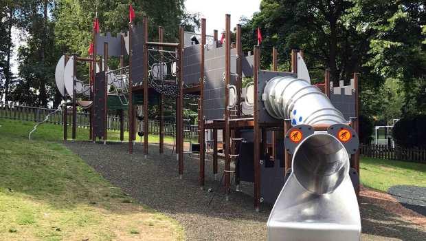 Municipal Gardens and Play Area, Aldershot, Hampshire