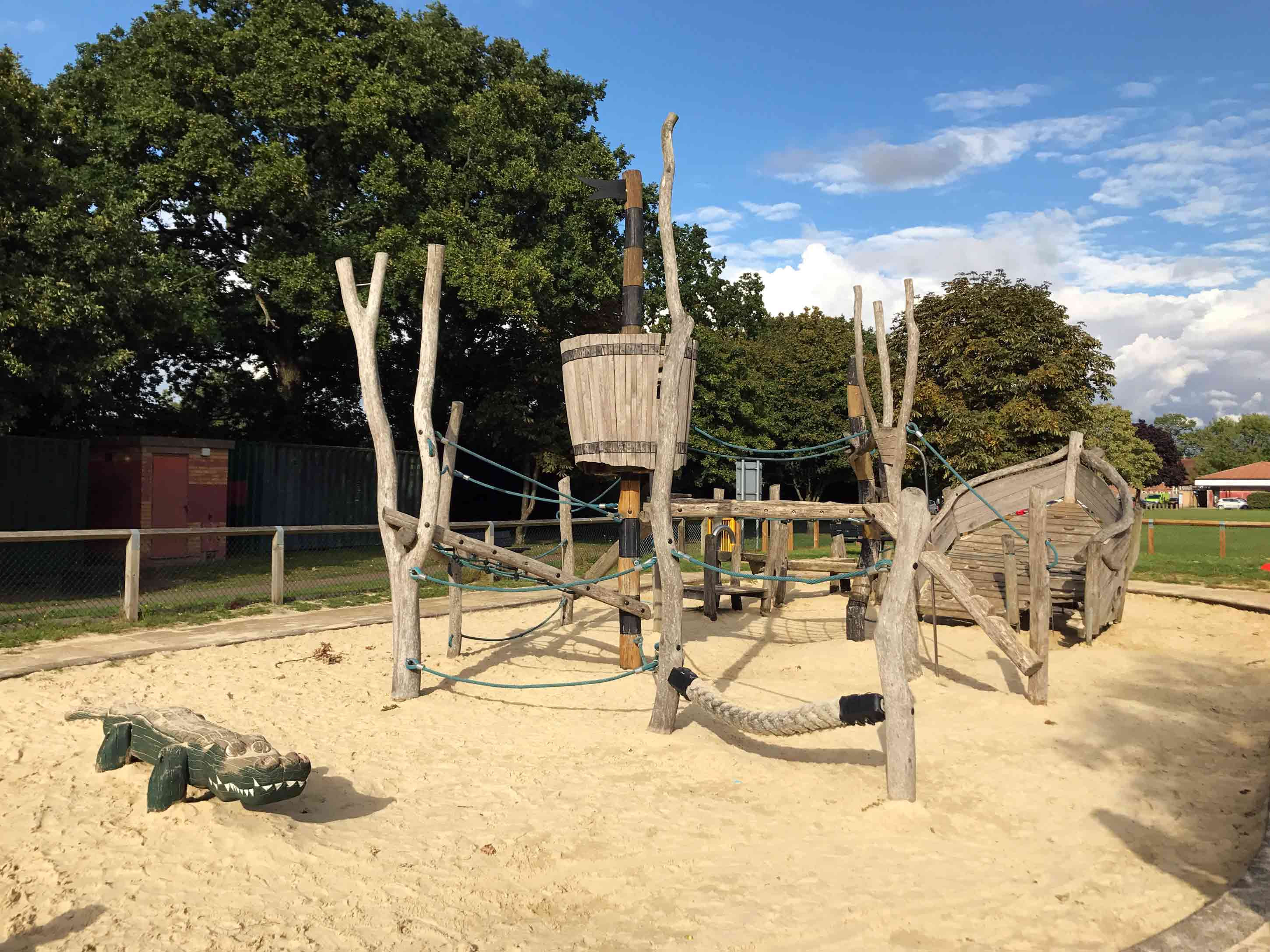 Plunder Treasure at Byfleet Recreation Ground and Play Area
