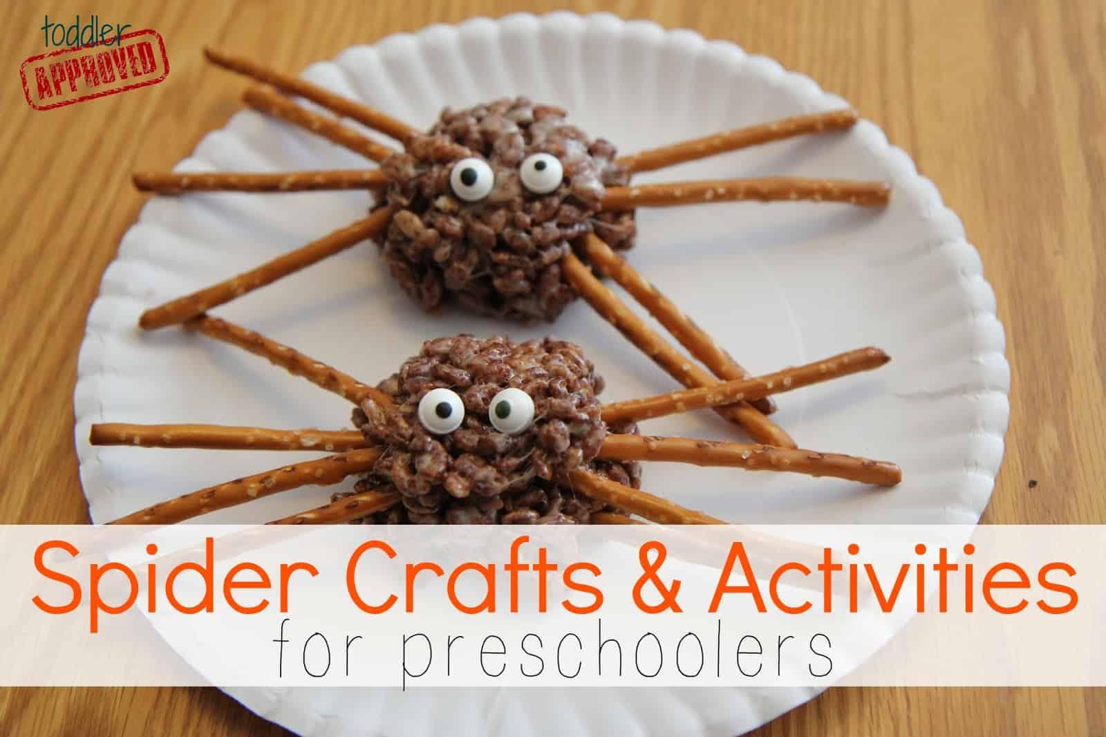 Spider Crafts Amp Activities For Preschoolers Preschool