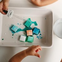 Fizzing Ice Cubes Activity