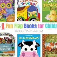 14 Fun Flap Books for Children