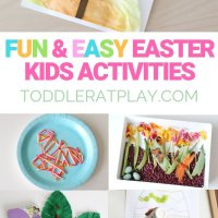 Easy And Fun Easter Activities for Toddlers & Preschoolers