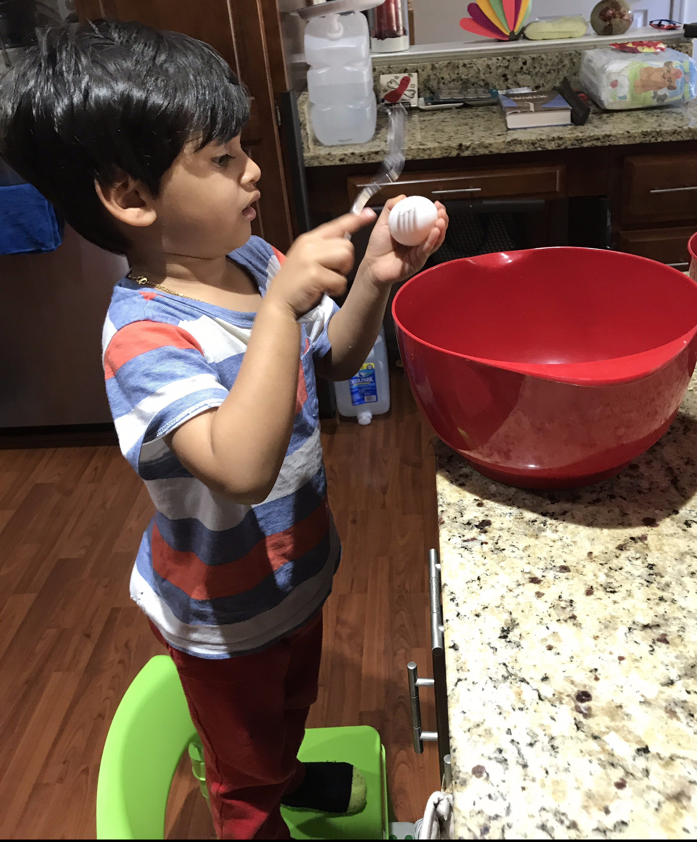 Baking With My Toddler Toddlerscribbles Blog