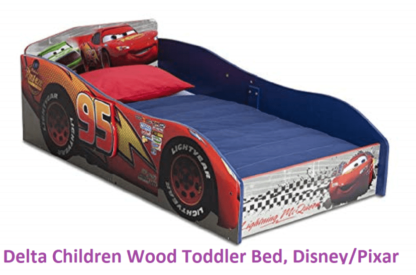 Delta Children Wood Toddler Bed, Disney