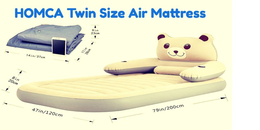 HOMCA Twin Size Air Mattress