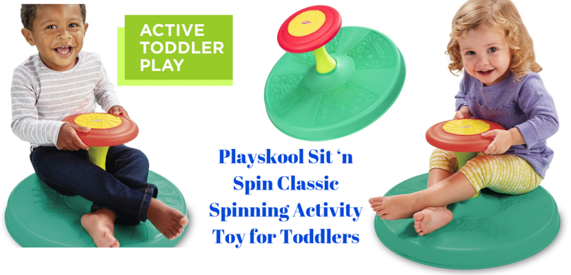 Playskool Sit 'n Spin Classic Spinning Activity Toy for Toddlers