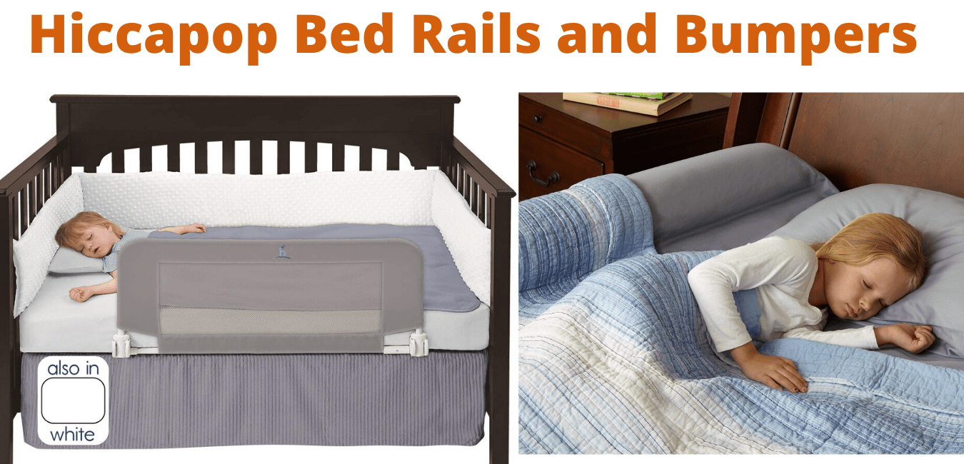 Hiccapop Bed Rails and Bumpers