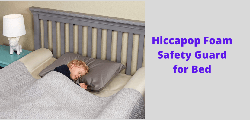 Hiccapop Foam Safety Guard for Bed