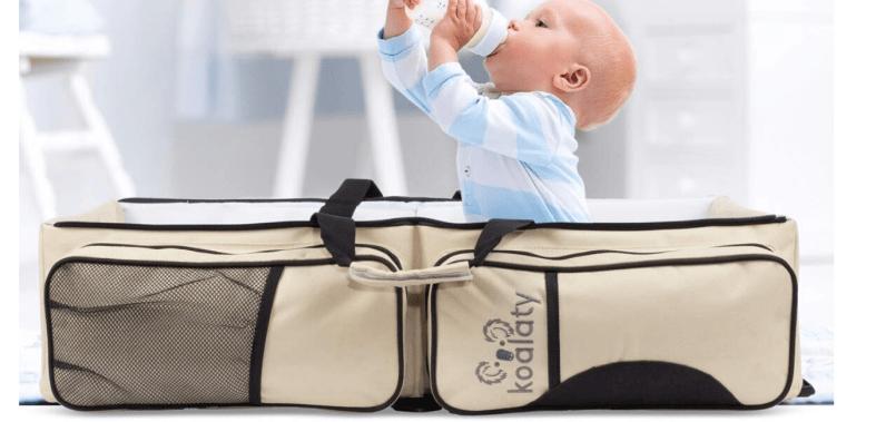 Koalaty Baby Travel Bag use