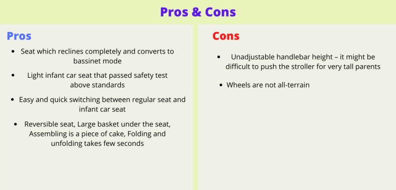 Evenflo Pivot Pros & Cons