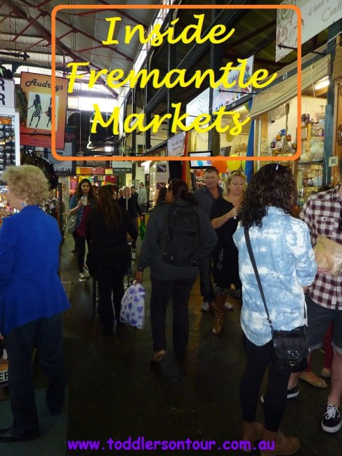 travel with kids to Fremantle Markets