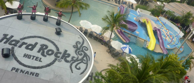 penang with kids at hard rock hotel