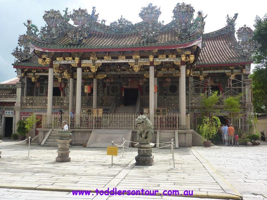 Penang Chinatown - Khoo Clan house