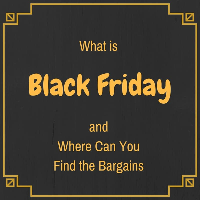 Black Friday/Cyber Monday #TheWeeklyPostcard