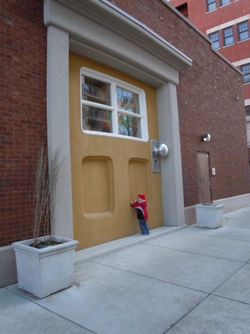 Big Monster Door - Toddling Around Chicagoland