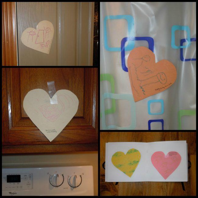 Valentine's Day surprise - collage