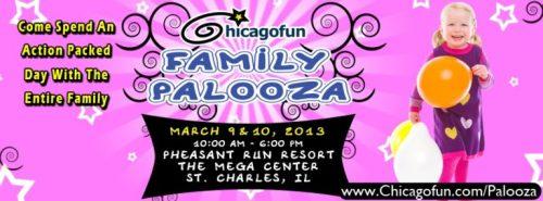 Chicago Fun Family Palooza - banner - Toddling Around Chicagoland