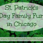 St. Patrick's Day Family Fun – 2013