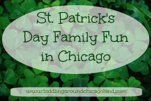 St. Patrick's Day Family Fun header