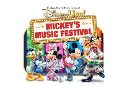 Disney Live! Mickey's Music Festival logo - Toddling Around Chicagoland