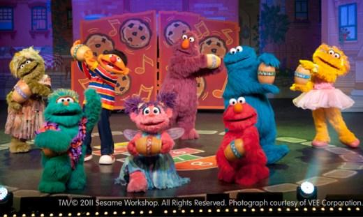 Sesame Street Live - cast - Toddling Around Chicagoland