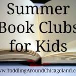 Summer Book Clubs – 2013