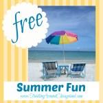 Free Summer Fun – 2013