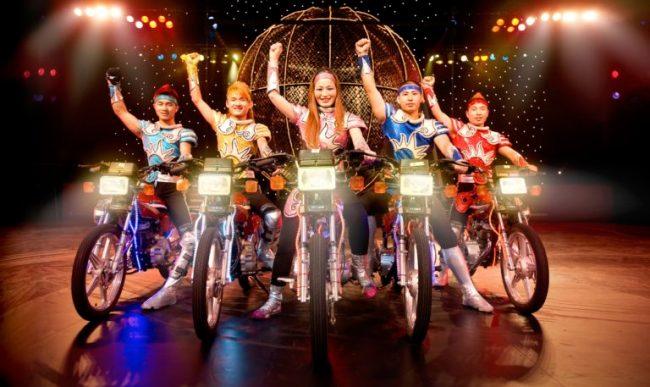 Cirque Shanghai Globe of Death